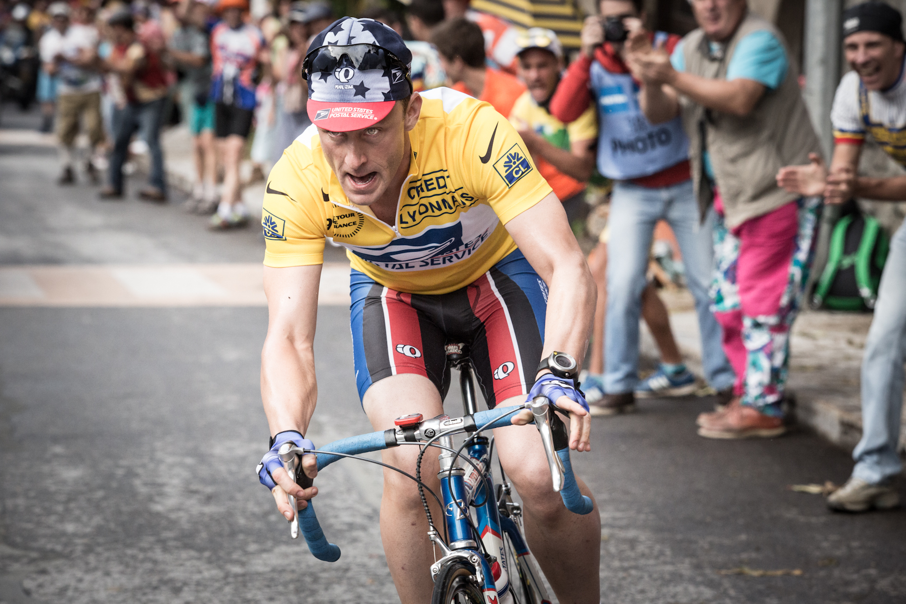 Ben Foster - Lance armstrong - Copyright Working Title Films